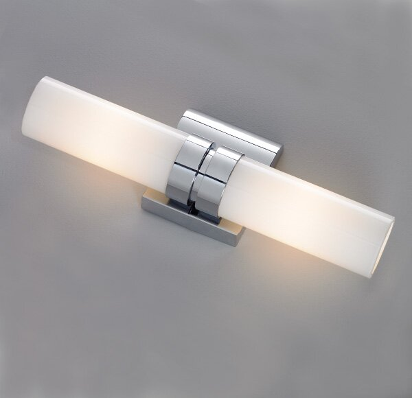 Wave 2-Light Double Wall Sconce by ILEX Lighting
