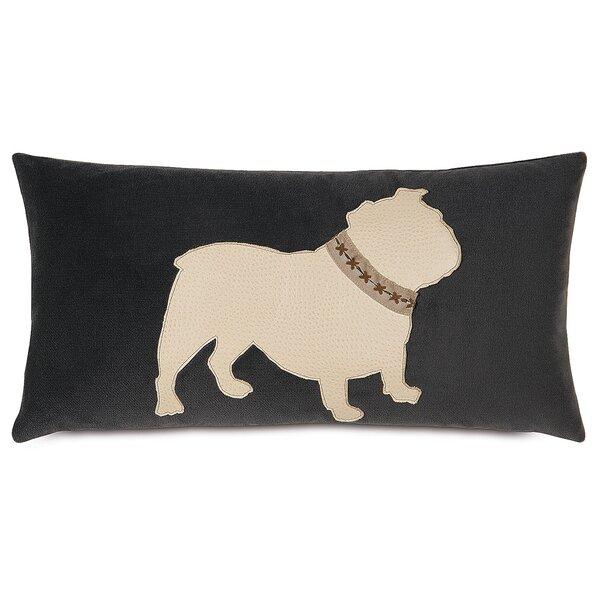 Pets Bulldog Lumbar Pillow by Eastern Accents
