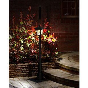 Compare prices McAnulty Solar Vintage 1-Light 42 Post Light (Set of 2) By Winston Porter