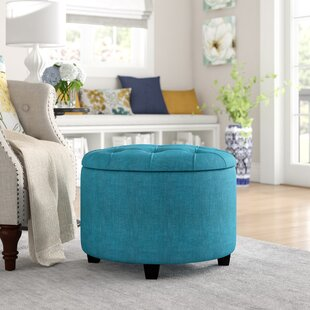 Compare prices Claudine Storage Ottoman By Alcott Hill