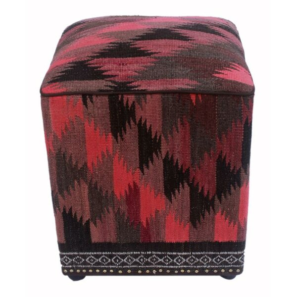 Braziel Kilim Cube Ottoman by Union Rustic
