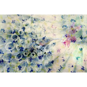 'Humming' by Parvez Taj Painting Print on Wrapped Canvas by Zipcode Design