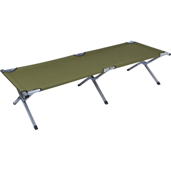 Portable Folding Camping Cot by Trademark Innovations