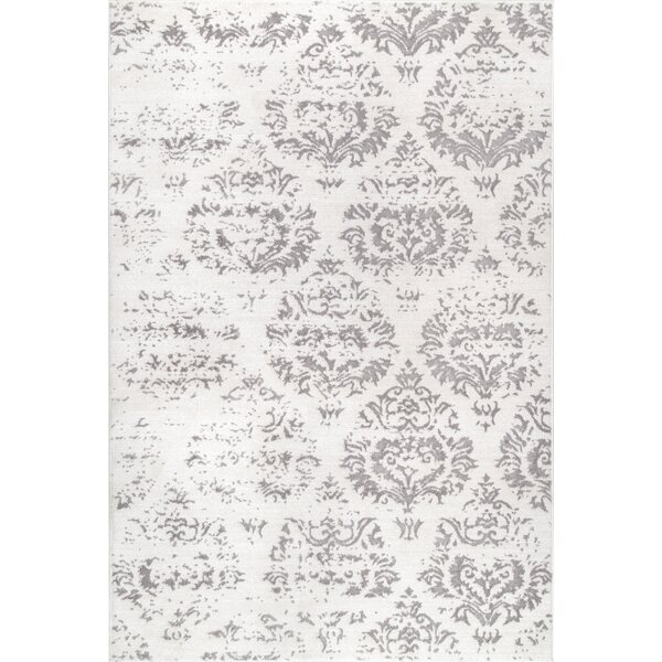 Wilner Ivory Area Rug by Ophelia & Co.