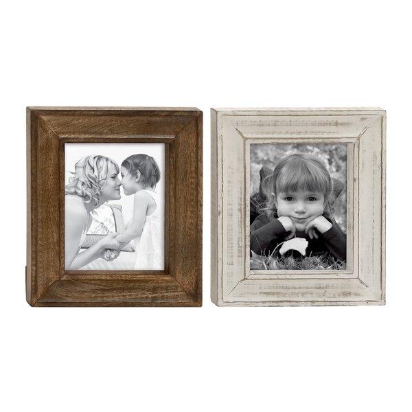 Hartshorne Striking Picture Frame Set (Set of 2) by Loon Peak
