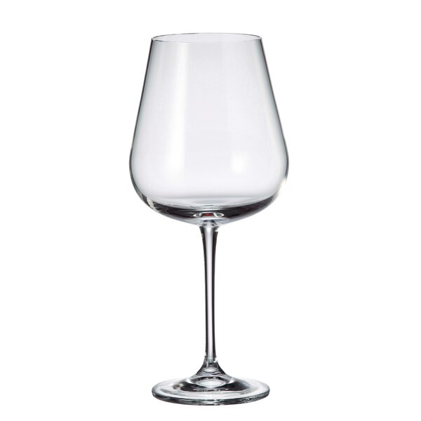 Domerc Lead Free Crystal 22 oz. Wine Glass (Set of 12) by Orren Ellis