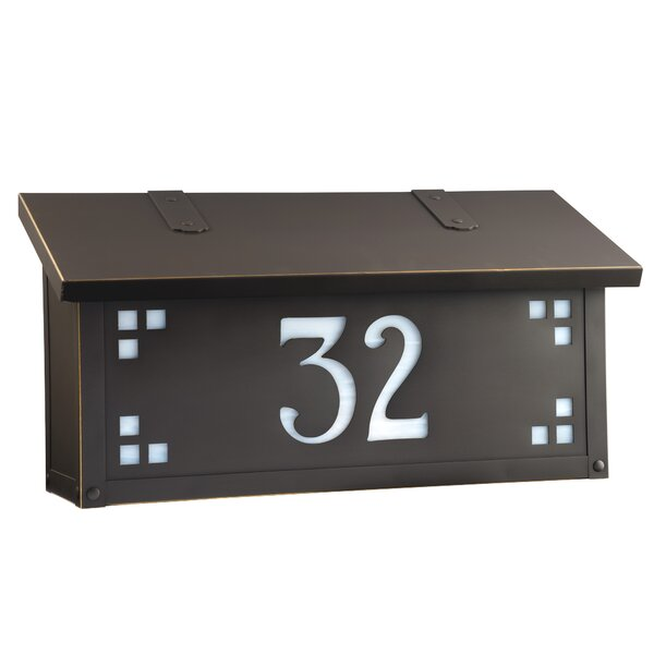 Pasadena Wall Mounted Mailbox by America's Finest Lighting Company