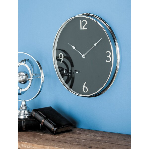 Stainless Steel 18 Wall Clock by Cole & Grey