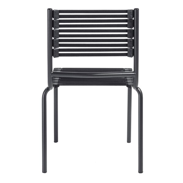 Amico Armless Flat Stacking Chair (Set of 4) by Orren Ellis