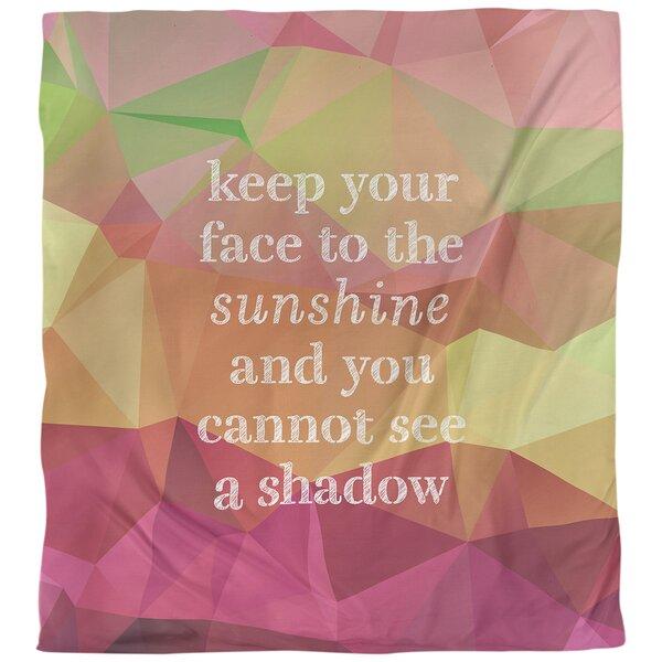 Optimism Inspirational Quote Single Duvet Cover