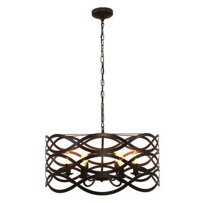 Hidalgo 12 Light Sputnik Modern Linear Chandelier