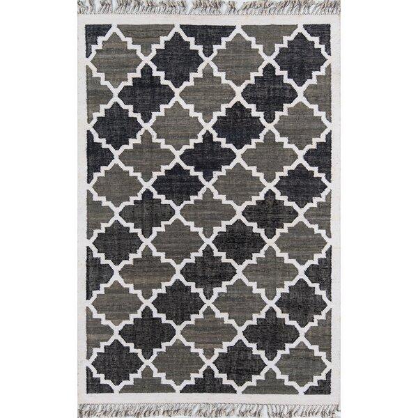 California Hand Woven Cotton Charcoal Area Rug by Novogratz By Momeni
