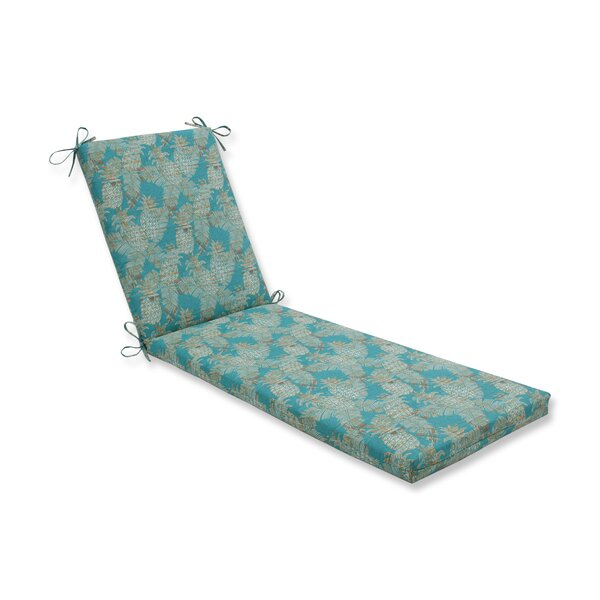 Emeline Batik Indoor/Outdoor Chaise Lounge Cushion By Bay Isle Home