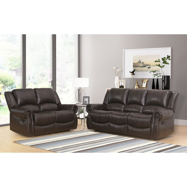 Digiovanni Reclining 2 Pieces Living Room Set by Red Barrel Studio