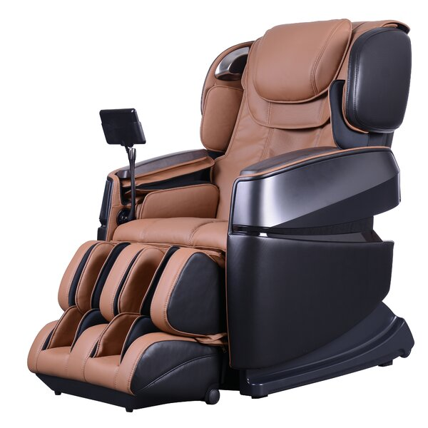 Touch 3D Reclining Full Body Zero Gravity Heated Massage Chair (Set of 3) by Latitude Run