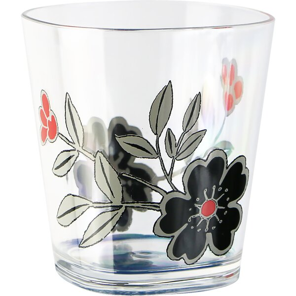 Mandarin Flower Acrylic 14 oz. Drinkware set (Set of 6) by Corelle