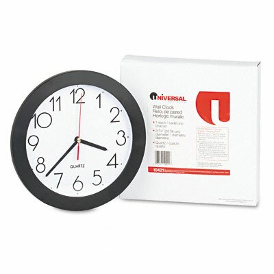 9.75 Wall Clock by Universal®