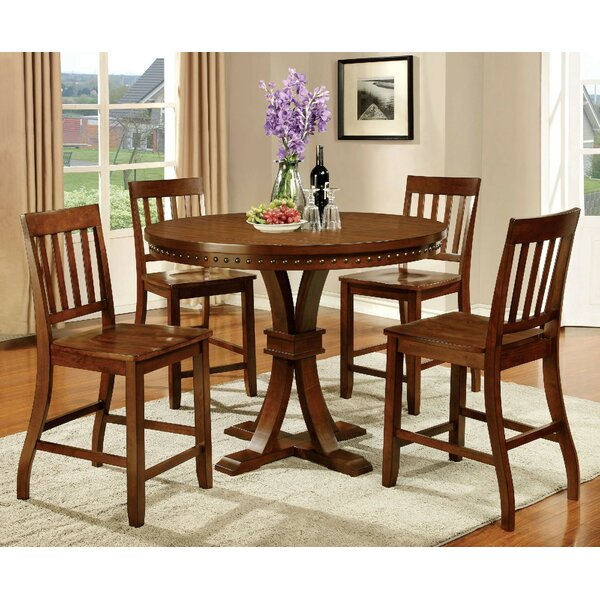 Florencio 5 Piece Pub Table Set by Loon Peak