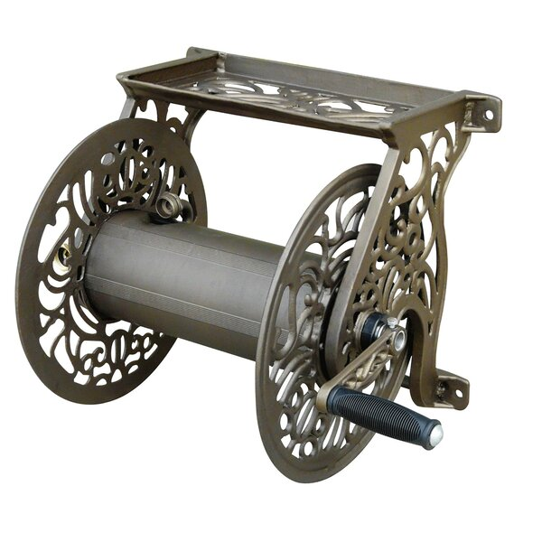 Aluminum Wall Mounted Hose Reel by Liberty Garden