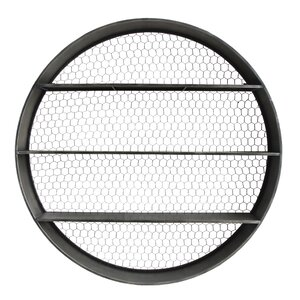 Fairplays Round Metal Wall Shelf