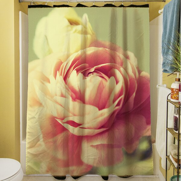 Vintage Botanicals III Shower Curtain by Manual Woodworkers & Weavers
