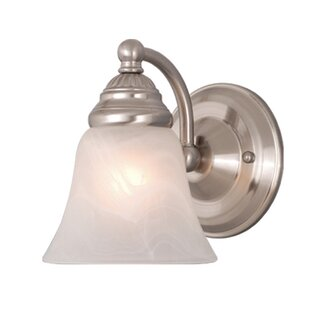 Order Omaha 1-Light Armed Sconce By Andover Mills