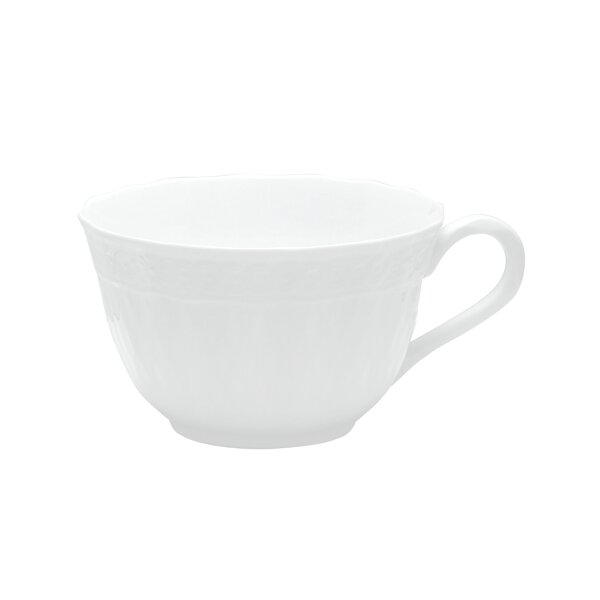 Cher Blanc Teacup by Noritake