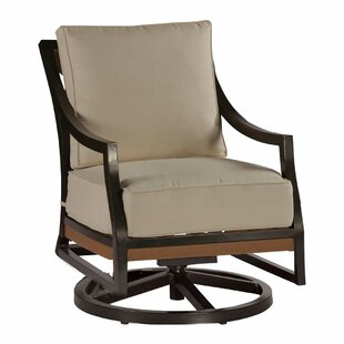 Belize Swivel Rocking Chair with Cushions Summer Classics