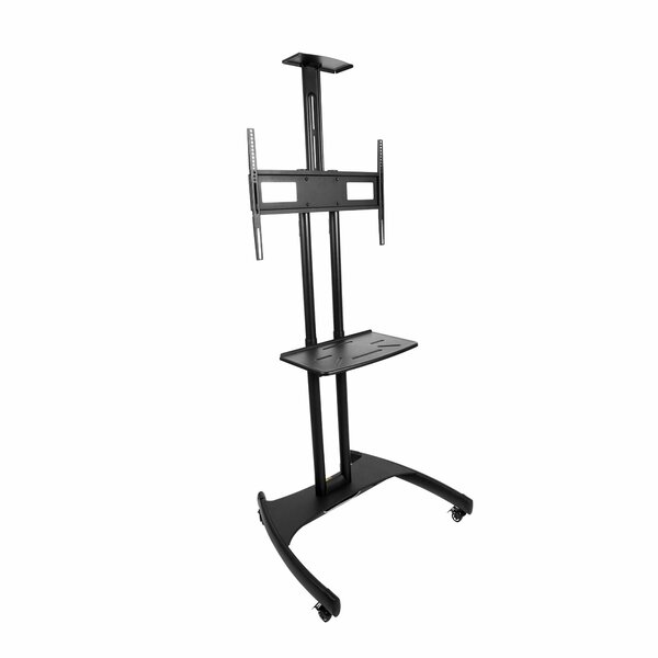 Mobile TV Fixed Floor Stand Mount for Greater than 50 Flat Panel Screen by Kanto