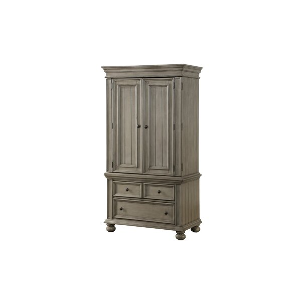 Shalon 2 Drawer Armoire by Harriet Bee Harriet Bee