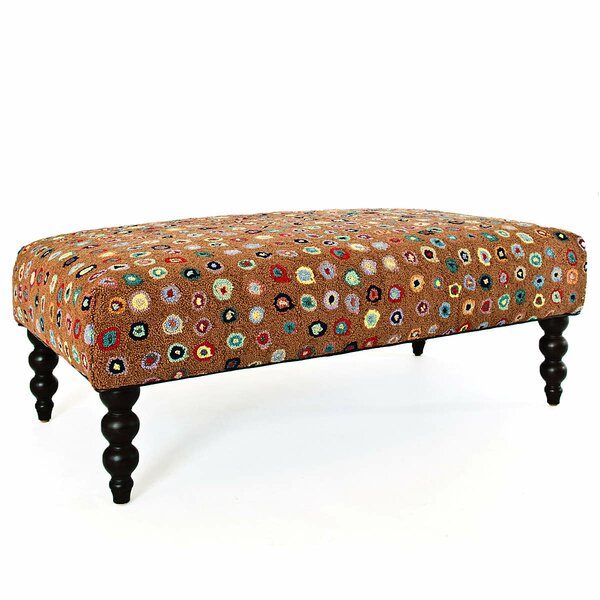 Rug Upholstered Bench by Annie Selke Home