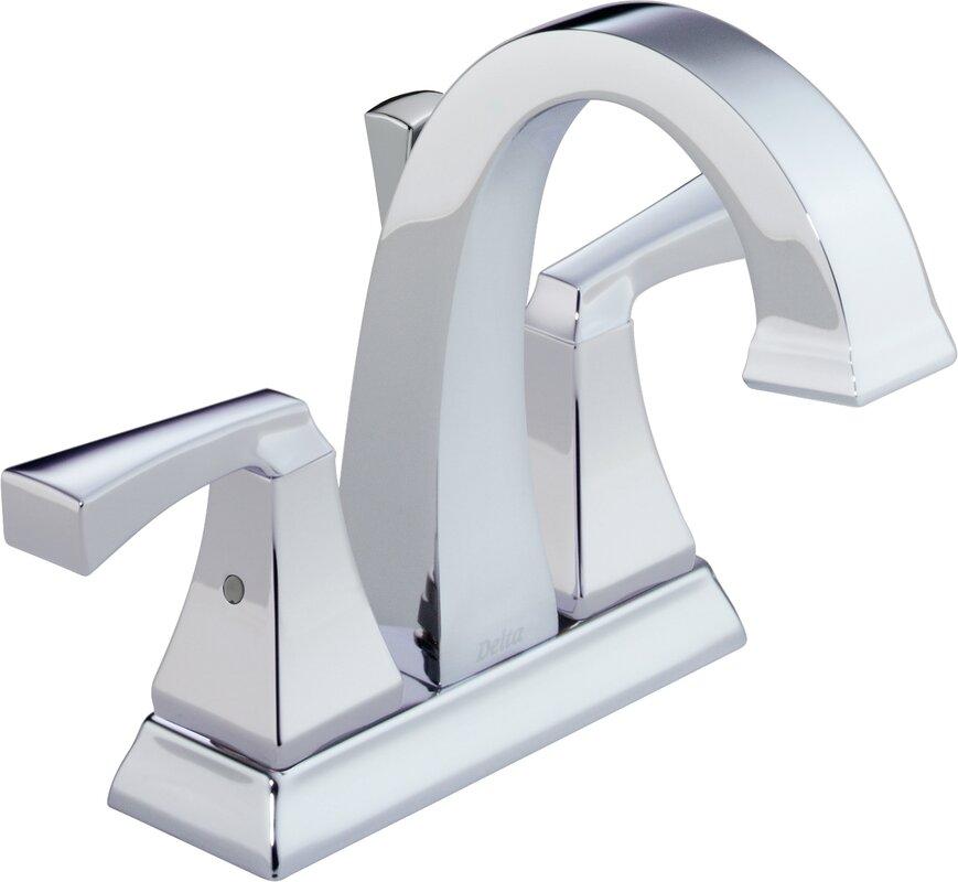 Delta Dryden™ Centerset Bathroom Faucet and Diamond Seal ...