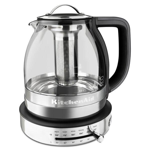 Glass Electric Tea Kettle - KEK1322 by KitchenAid