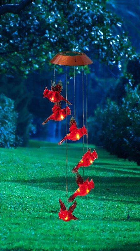 Evergreen Flag Amp Garden Garden Days Cardinal Solar Mobile