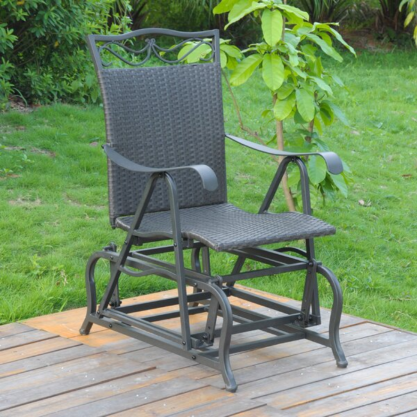 Stapleton Patio Glider Chair by Charlton Home