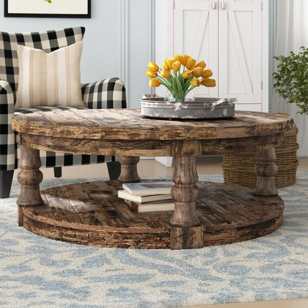 Amstel Floor Shelf Coffee Table With Storage By Gracie Oaks
