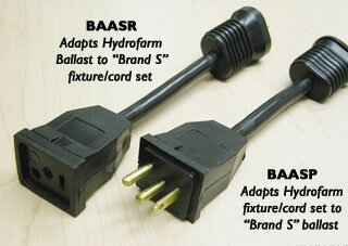 Brand S Receptacle Adapter by Hydrofarm