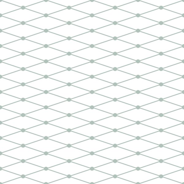 Fishnet Stretch 48 x 24 Wallpaper Tile by Wallums Wall Decor
