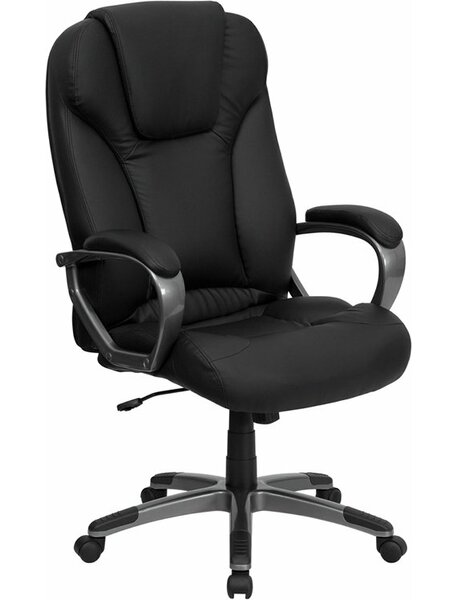 Kruger High-Back Ergonomic Executive Chair by Symple Stuff