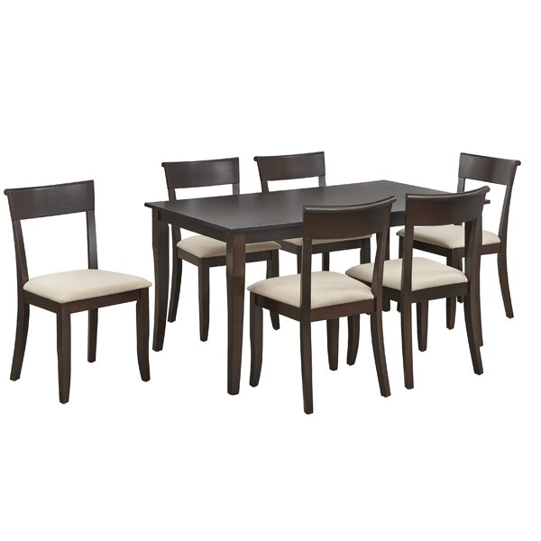 Alfred 7 Piece Dining Set by August Grove August Grove