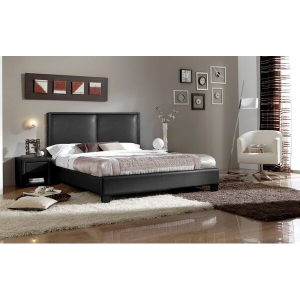 Purcell Upholstered Platform Bed by Orren Ellis