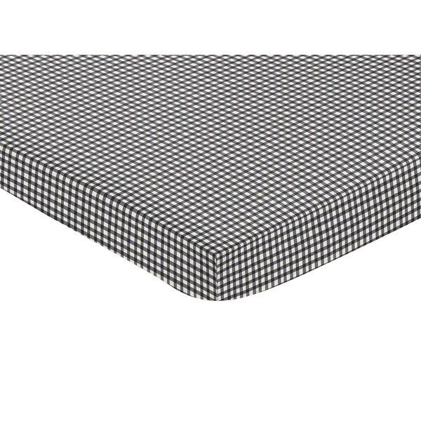 Ladybug Mini Fitted Crib Sheet by Sweet Jojo Designs