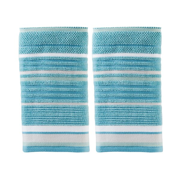 Varian Cotton Hand Towel (Set of 2) by Highland Dunes