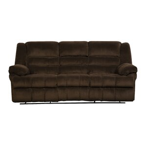 Darby Home Co Simmons Upholstery Mendes Double Motion Reclining Sofa