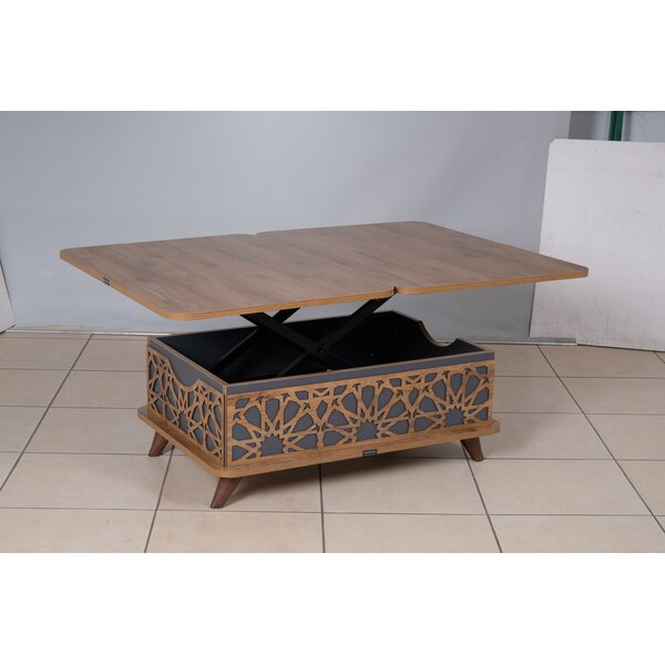 NezPerce Lift Top Coffee Table By Bungalow Rose