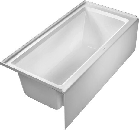 Architec 66 x 32 Bathtub with Left Drain by Duravit