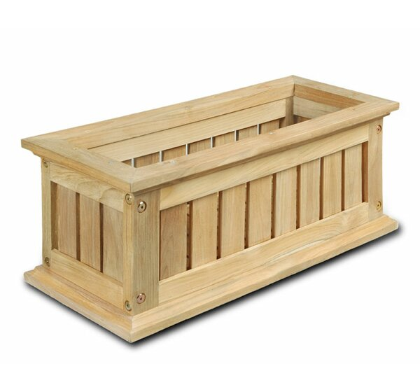Lexington Wood Window Box Planter by DMC