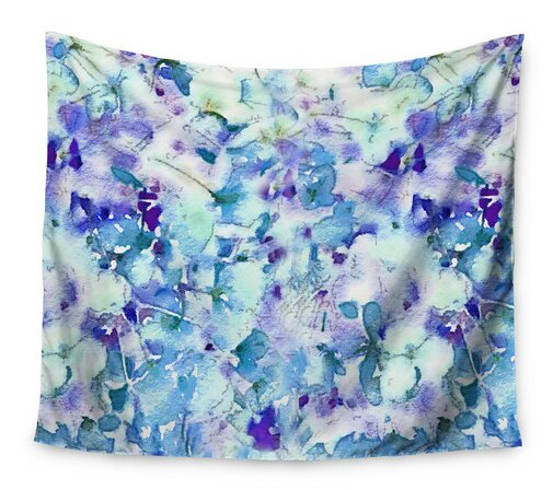 Floral Fantasy by Carolyn Greifeld Wall Tapestry by East Urban Home