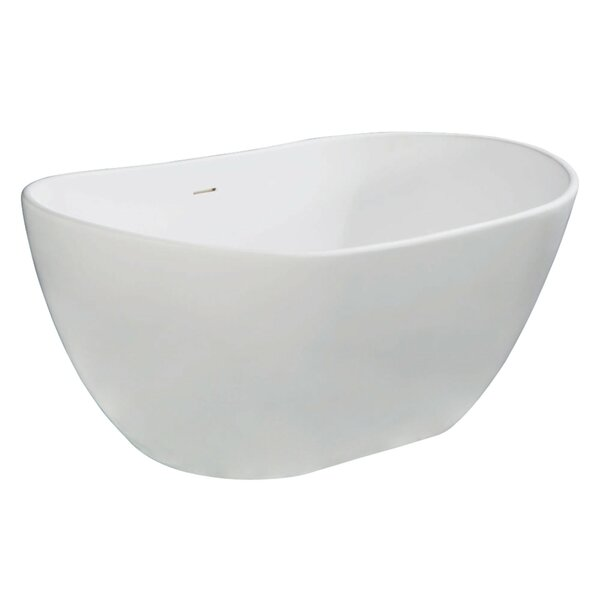 Aqua Eden Collete Freestanding Soaking Bathtub by Kingston Brass