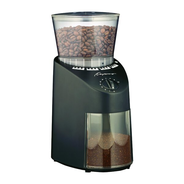 Infinity Conical Electric Burr Coffee Grinder by Capresso